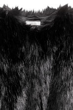Faux fur jacket - Black - Ladies | H&M CN 3