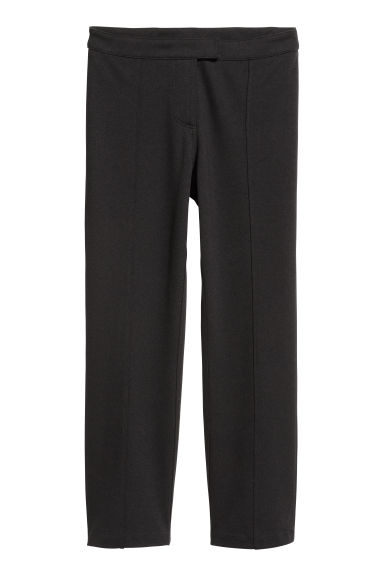 Jersey suit trousers - Black - Ladies | H&M