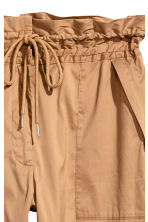 Premium cotton-blend trousers  - Beige - Ladies | H&M CA 3