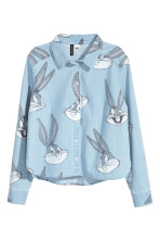 Azul denim claro/Looney Tunes