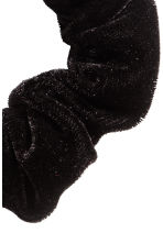 Velour scrunchie - Black - Ladies | H&M CN 2