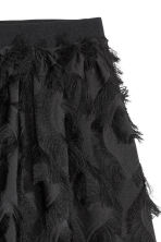 Skirt with fringes - Black - Ladies | H&M 3