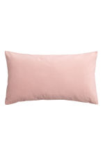Cotton velvet cushion cover - Light pink - Home All | H&M CN 1