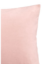 Cotton velvet cushion cover - Light pink - Home All | H&M CN 2