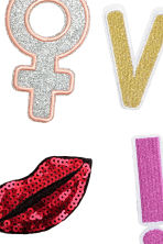6-pack patches - Love/Lips - Ladies | H&M 2