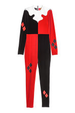 Jester costume - Red/Black - Ladies | H&M CN 1