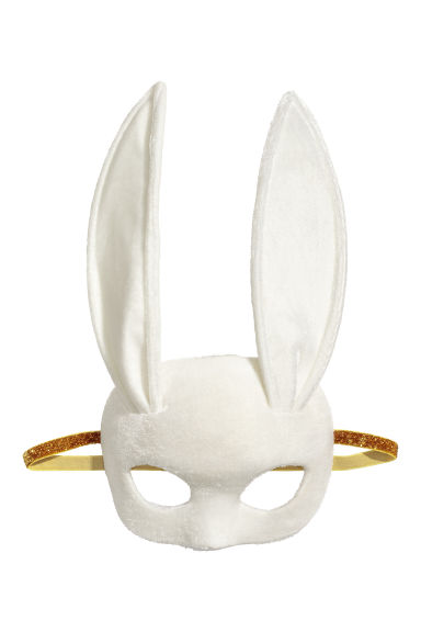 Fancy dress mask - White - Ladies | H&M
