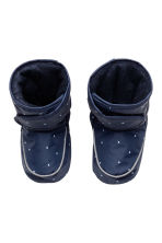 Padded slippers - Dark blue - Kids | H&M 2