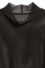 Mesh top - Black - Ladies | H&M 3