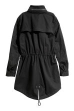H&M+ Short cotton parka - Black - Ladies | H&M 3
