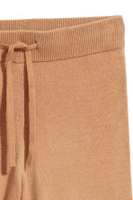 Pantaloni ampi in cashmere - Cammello - DONNA | H&M IT 3