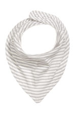 2-pack triangular scarves - Natural white - Kids | H&M 2