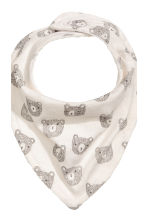 2-pack triangular scarves - Natural white - Kids | H&M 3