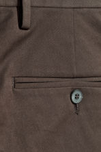 Cotton twill chinos - Dark brown - Men | H&M 3