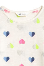 Jumper - White/Hearts - Kids | H&M CN 3