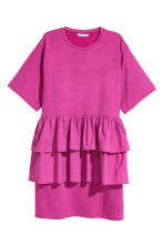 Flounced tunic - Magenta - Ladies | H&M 2
