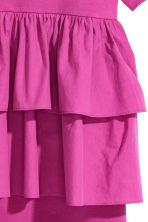 Flounced tunic - Magenta - Ladies | H&M 3