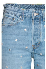 Vintage High Jeans - Light denim blue/Studs - Ladies | H&M GB 2