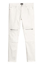 Skinny Biker Jeans - 白色 - Men | H&M CN 2