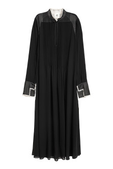 Chiffon kaftan dress