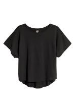 Modal-blend top - Black - Kids | H&M CN 2