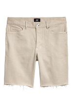 Denim shorts - Beige - Men | H&M GB 2