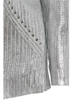MAMA Coated jumper - Silver-coloured - Ladies | H&M 3