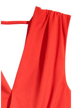 V-neck wrapover body - Red - Ladies | H&M 4