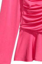 Draped top - Pink - Ladies | H&M IE 3