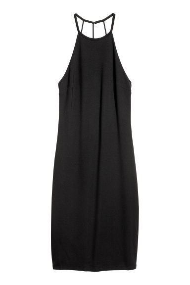 Sleeveless dress - Black - Ladies | H&M IE