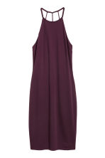 Sleeveless dress - Plum - Ladies | H&M 2