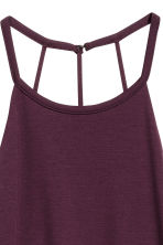 Sleeveless dress - Plum - Ladies | H&M 3