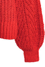 Loose-knit jumper - Red - Ladies | H&M 3