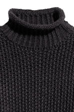 Chunky-knit Sweater - Black - Ladies | H&M CA