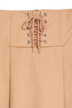 Flared skirt - Beige - Ladies | H&M 3