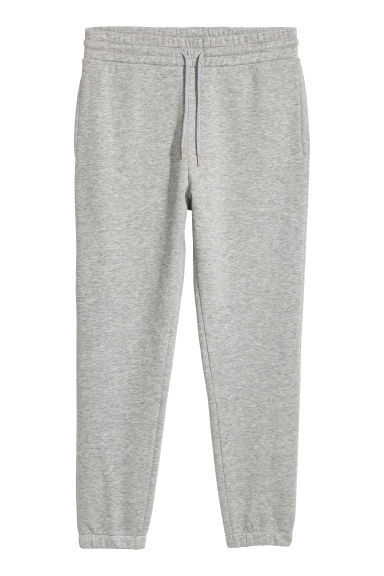 Sweatpants - Grey marl - Men | H&M 1