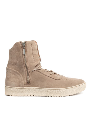 Suede hi-tops - Beige - Men | H&M 1