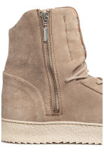 Suede hi-tops - Beige - Men | H&M 4