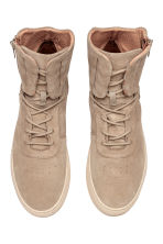 Suede hi-tops - Beige - Men | H&M 2