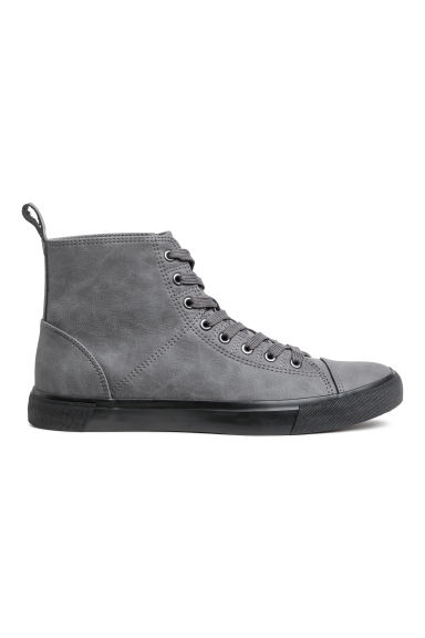 Hi-top trainers - Gray - Men | H&M
