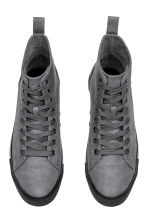 Baskets montantes - Gris - HOMME | H&M BE 2