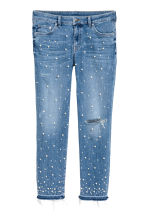 珠飾 jeans - Denim blue - Ladies | H&M 2