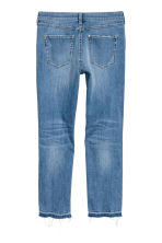 Pärlbroderade jeans - Denimblå - Ladies | H&M FI 3