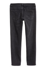 Decorated Slim Regular Jeans  - Nearly black/Stars - Ladies | H&M 3