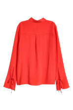 Silk shirt - Red - Ladies | H&M CN 2