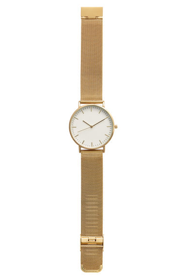 Metal watch - Gold-coloured - Ladies | H&M GB