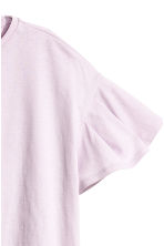 Flounced-sleeve top - Light pink - Ladies | H&M 3