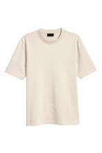 Cotton T-shirt - Light beige - Men | H&M 2