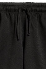 Short jersey shorts - Black - Men | H&M CN 3