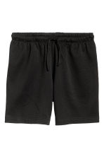 Short jersey shorts - Black - Men | H&M CN 2